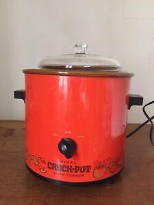 Vintage Crockpot
