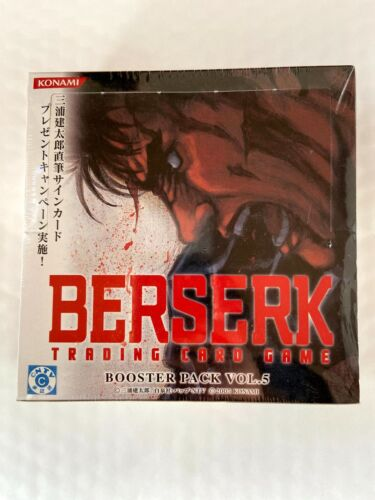 Extra rare! BERSERK Trading card Booster Pack Vol.5 BK5 Sealed box