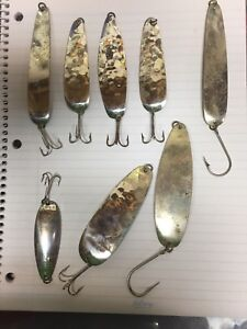 Vintage original Sutton ultra thin fishing lures