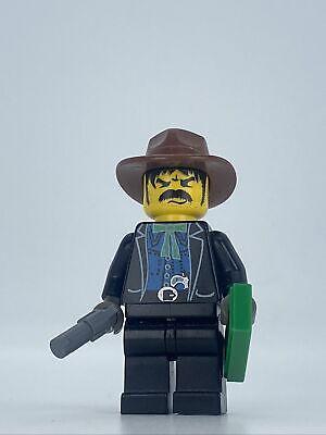LEGO Western: Bandit 1 - Minifigure - Set 6761 6762 6765 6769 ww007 1996 Cowboy