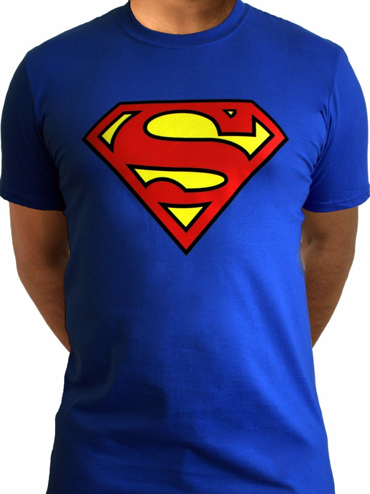 Superman Logo Classic Official Movie Dc Comics Justice League Blue