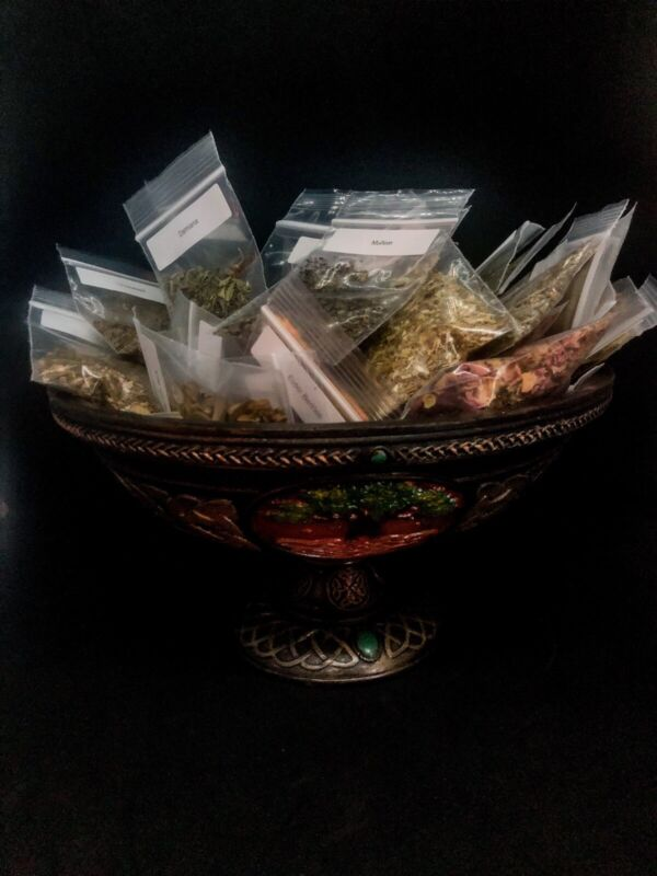 98 Herb/Resin Kit PAGAN, SPELLS, WICCA, WITCHCRAFT
