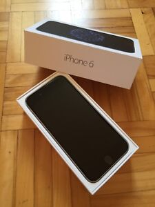 iPhone 6 ,16g ,comme neuf , bell