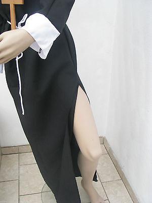 Nonnenkostüm komplett Set sexy Nonne Kostüm Erwachsene mit Kreuz Gr.M Karneval