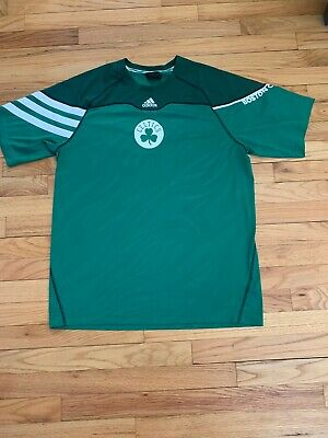 Men's Adidas Boston Celtics shooting shirt size large Adidas Shooting Shirts