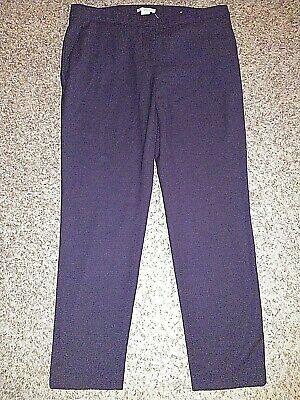 H&M Women's Dress Pants, Sz 10, Flat Front, Ankle-Length 12883