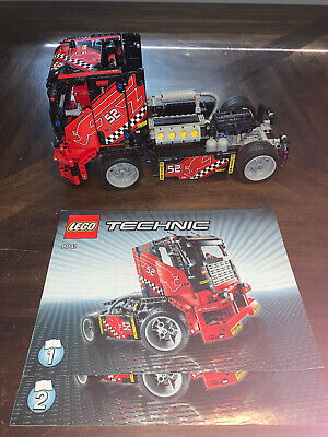 LEGO Technic Race Truck Set, 8041, 100% Complete