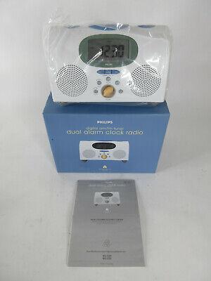 Philips MICHAEL GRAVES MG-C205/17 Dual Alarm Clock Digital AM/FM Radio White