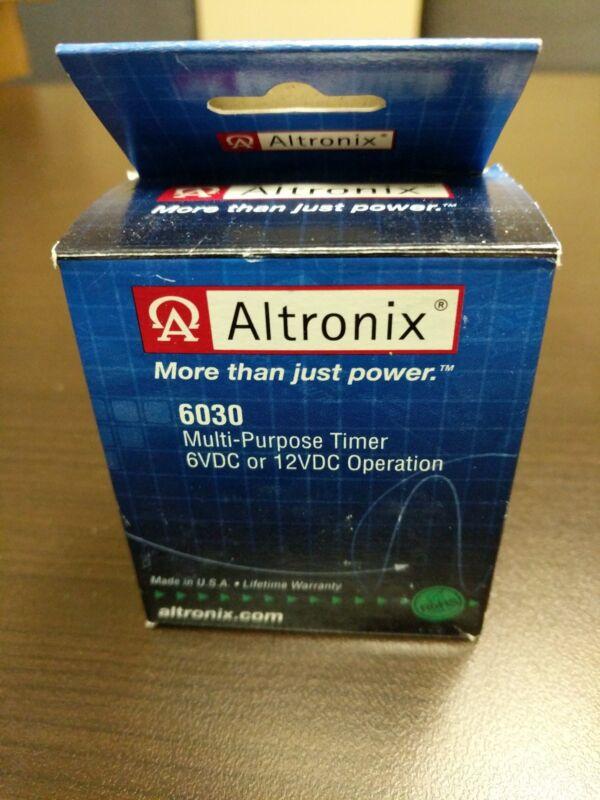 New Altronix 6030 Multi-purpose Timer 6 / 12 VDC