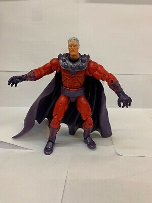 "Marvel Legends MAGNETO Series III (3) ToyBiz 6""2002 X-MEN Unmasked No Helmet"