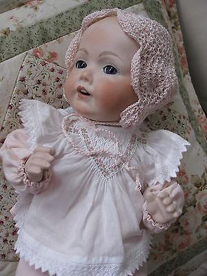 Kestner - Baby Hilda aus Porzellan ca, 38 cm groß, Sammlungsauflösung