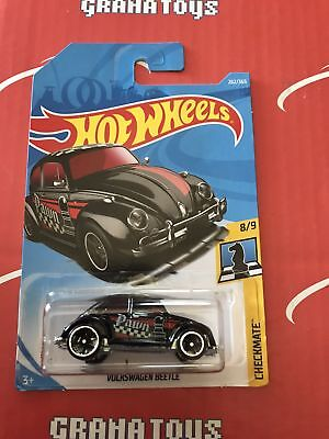 Volkswagen Beetle #262 Pawn Checkmate 2018 Hot Wheels Case L