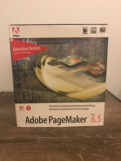 Old adobe page maker 6.5 like new