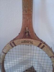 Vintage timber tennis racquet Wembley Cambridge Area Preview