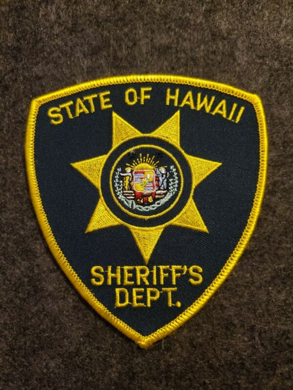 Vintage State of Hawaii Sheriff