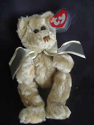 TY BEANIES BEAR - ATTIC TREASURES BEVERLY WITH TAG