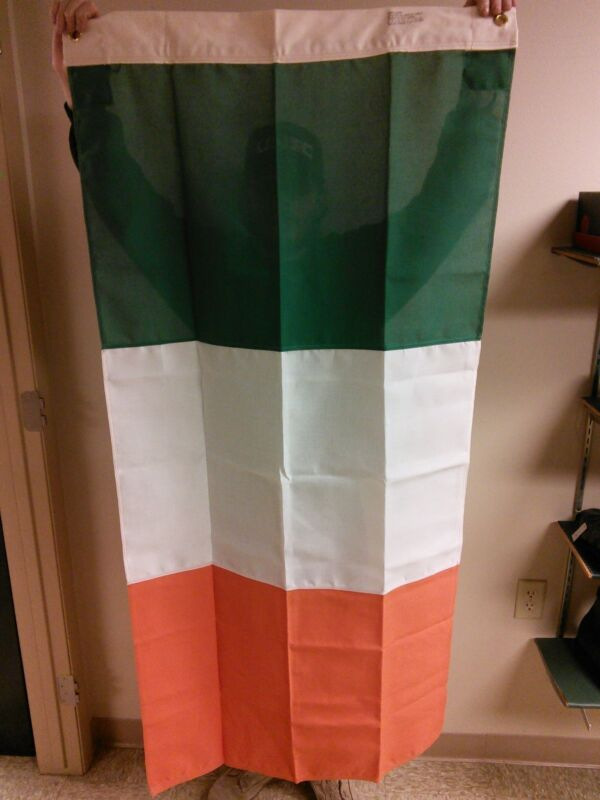 Genuine Issue Canvas Ireland Flag High Quality Canvas