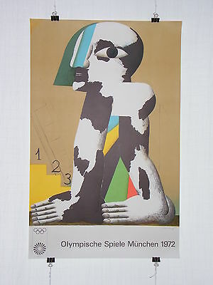 Poster Plakat - Olympiade 1972 München - Horst Antes - Moderne