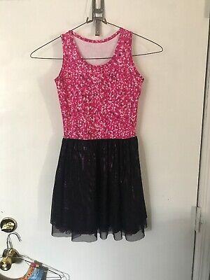 NWT ZARA TEREZ Girls Skater Dress Stars Design Size Medium - Zara Terez Skater Dress