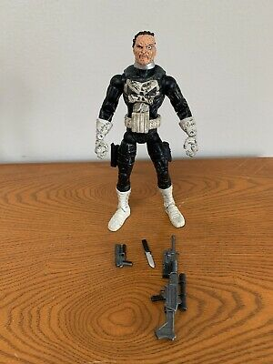 "Marvel Legends JIGSAW 6"" Figure Toy Biz FACE OFF Series 2006 Punisher COMPLETE"