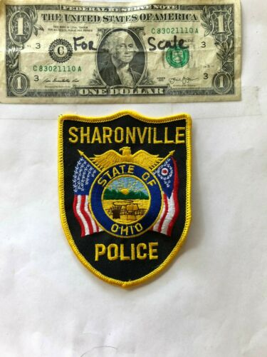 Sharonville Ohio Police Patch un-sewn in mint shape
