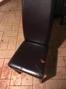 8 high back dining chairs Penshurst Hurstville Area Preview