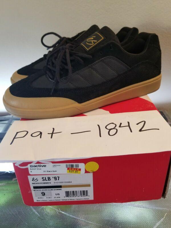 eS Footwear SLB 97 Black Gum Size 9 New Skateboarding Shoes  Sal 23 Barbier