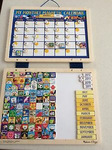 Melissa and Doug monthly magnetic calendar