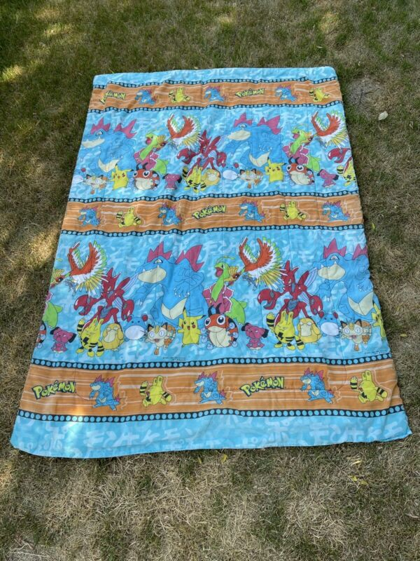 Pokemon Vintage 1998 Twin Comforter