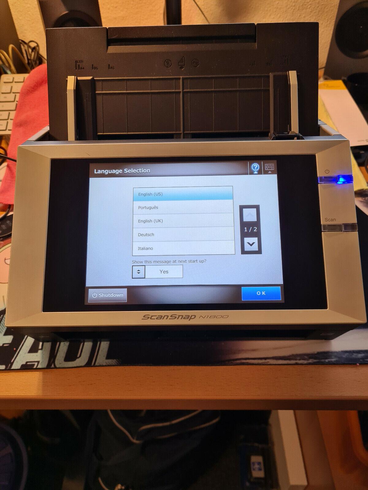 Fujitsu N1800 ScanSnap Dokumentenscanner