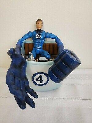 """Marvel Legends 6"""" comic MR. FANTASTIC Four 4 ToyBiz 2003 Series V 5 fantasticar"""