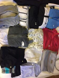 BRAND NAME CLOTHING LOT- lulu/roots +more