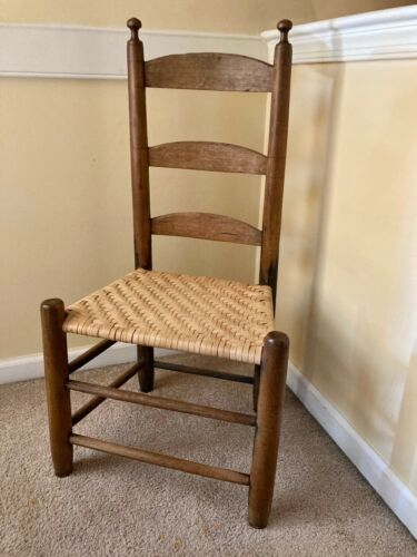 18th Century Chair,  Usable Condition With Good Color