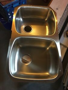 New Wessan dual under mount Sink