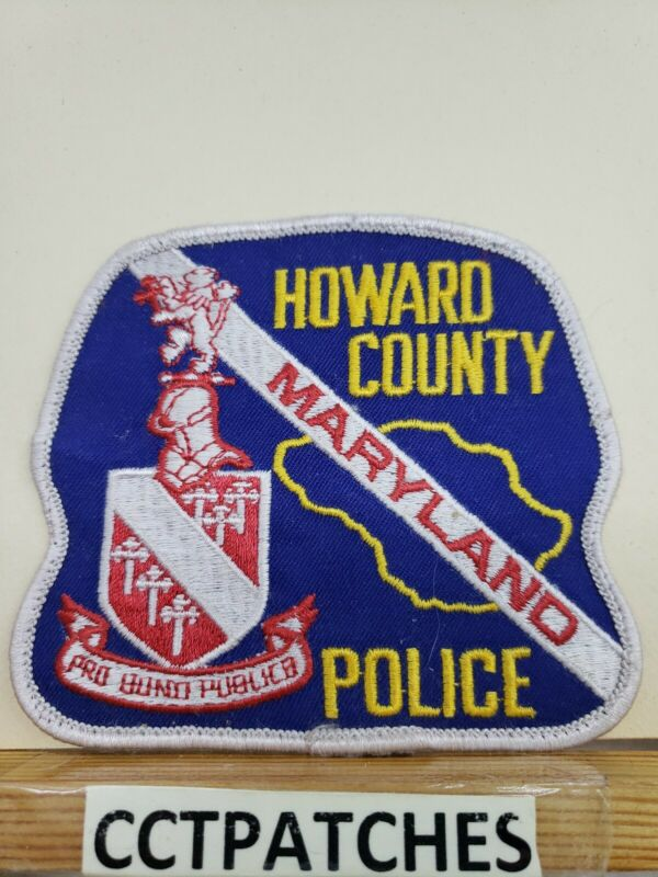 HOWARD COUNTY, MARYLAND POLICE SHOULDER PATCH MD