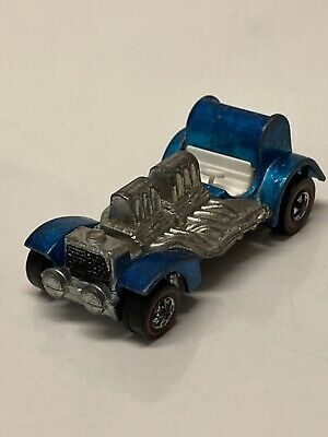 Hot Wheels Redlines Special Delivery 1970 Blue Made in Hong Kong
