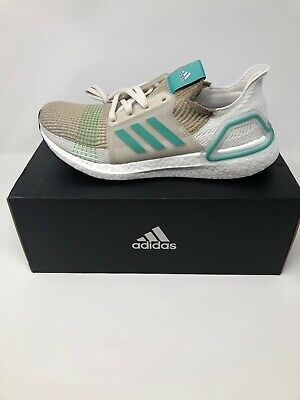 ADIDAS Men's UltraBOOST 19 Running Shoes Khaki/Green Size(10) F35239 MSRP $180