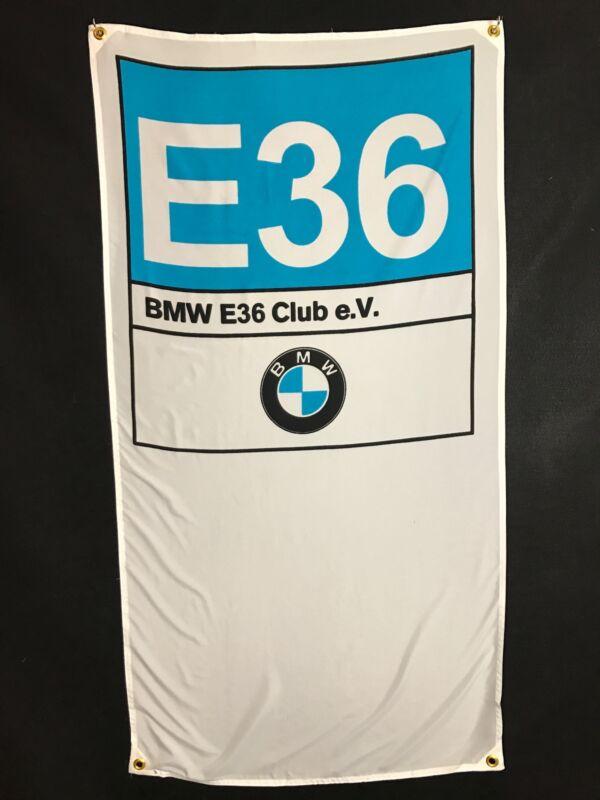 BMW E36 Banner Flag - M3 325i 325is 318i DTM Alpina Dinan Hartge C1 318ti Zirgo