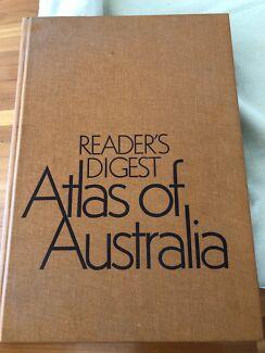 Vintage Australian Atlas.