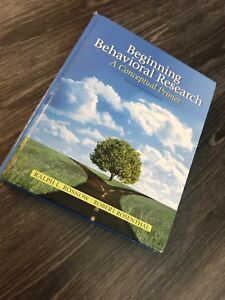 Selling research methods psychology textbook