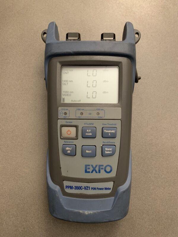 EXFO PPM-350C-VZ1 Fiber PON Power Meter