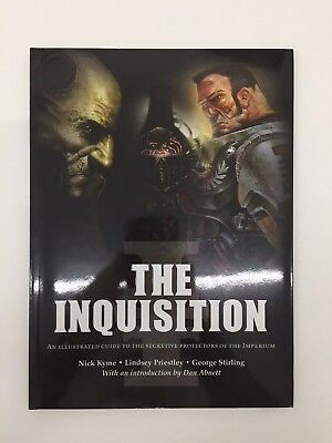 Warhammer 40,000 40K The Inquisition Libro Dibujo Firmado Limitado Softback 2007 segunda mano  Embacar hacia Spain