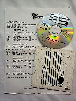 In The Studio Radio Show CD - Pink Floyd - Shine On Box Set Pt2  - #415 6/3/1996