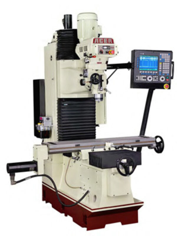 Acer Bed-mill 1054 Bedtype Milling Machine W/fagor 8055i / A-mc 3 Or 4 Axis Cnc