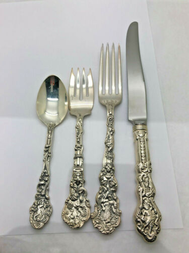Versailles by Gorham Sterling Silver Dinner Size Place Setting(s) 4pc NO MONO!!!