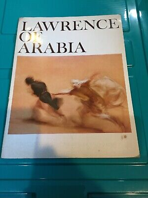 COLUMBIA PICTURES LAWRENCE OF ARABIA MOVIE PROGRAM 1962
