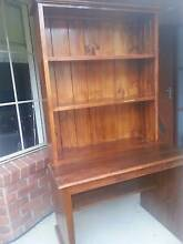 Pine Bookcase with Desk Gordon Tuggeranong Preview