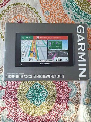 Garmin DriveAssist 51 LMT-S GPS w/ Lifetime Maps Wi-Fi & Dashcam