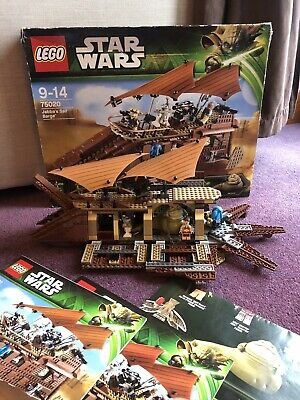 LEGO 75020 🎥 Star Wars 🎥 Jabba's Sail Barge COMPLETE SET with Poster
