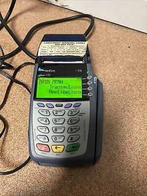 Verifone Vx 510 Credit Card Machine Omni 3730